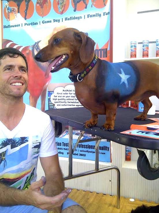 How This 'Shark Tank' Contestant Found Love -- and Wealth -- By Spray Painting His Dog