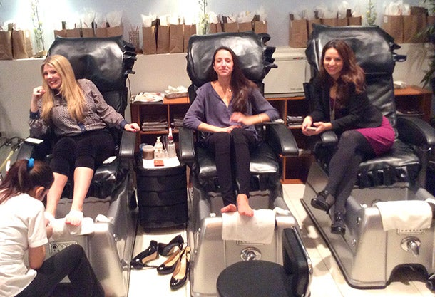 Power Pedicures: The New Golf for Businesswomen