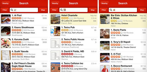 Lazy Customers Can Now Search Yelp Using Emojis