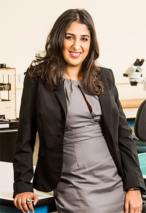 Taking care of business: Surbhi Sarna of nVision Medical.
