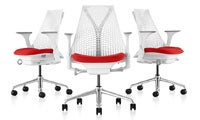 SAYL Work Chair with Suspension Back