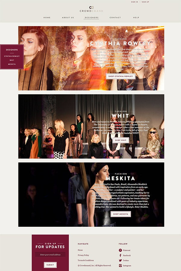 Fashion Startup Teams Up with Cynthia Rowley to Bet on Crowd Commerce