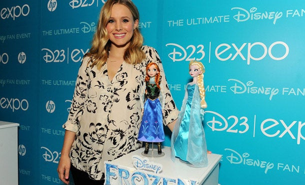 Frozen-obsessed tots drive toy sales