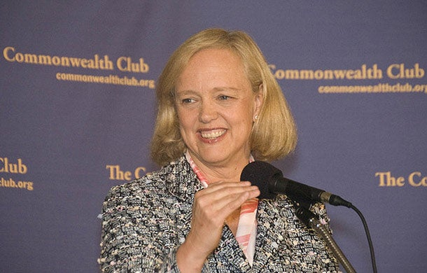 HP's Meg Whitman: One of my 'big failures' at eBay