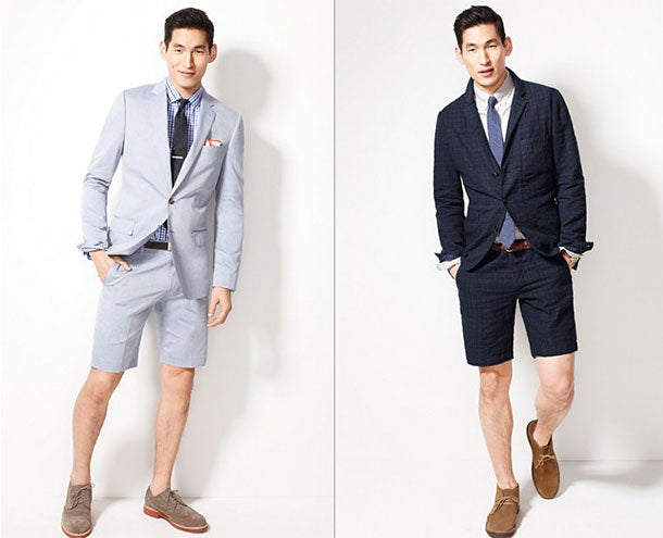 Is This the Summer of the Short Suit? Thankfully, Probably Not.