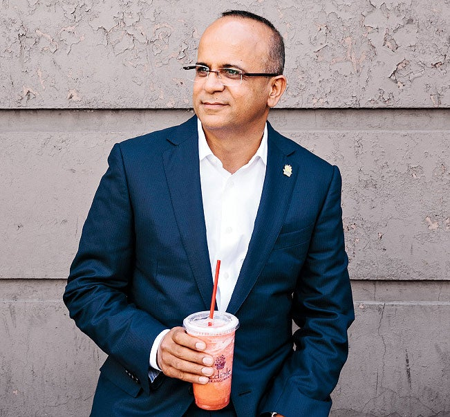 A thirst for innovation: Tariq Farid of Edible Arrangements.