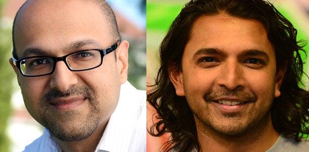 Mukesh Patel and Charlie Patel