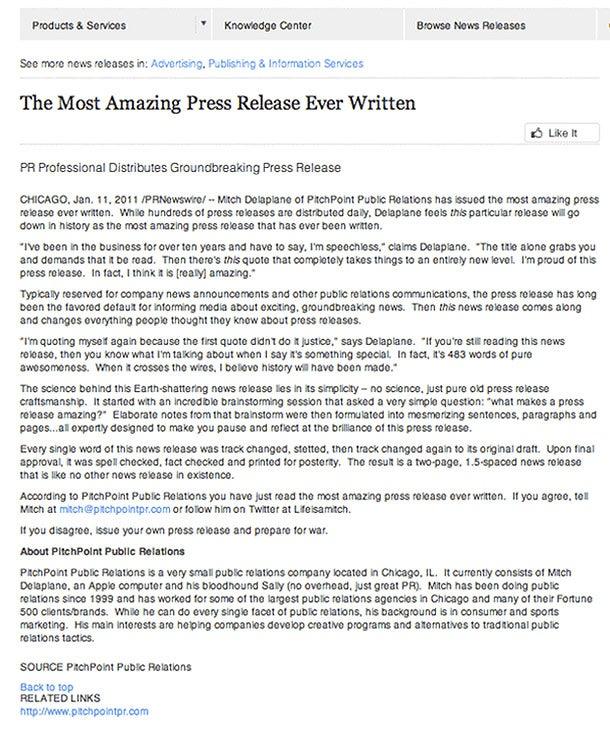 The 12 Must-Follow Rules for Issuing Press Releases