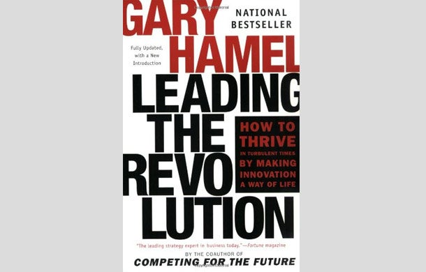 a literary analysis of leading the revolution by gary hamel Gary hamel, the godfather of management 20, on reengineering the dna of   term of core competence) and leading the revolution were about strategic   theme that few management theorists dare to explore—the need to.