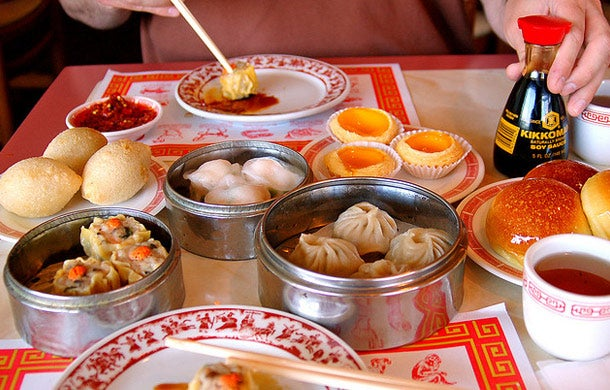 Asian-style small plates - Dim Sum