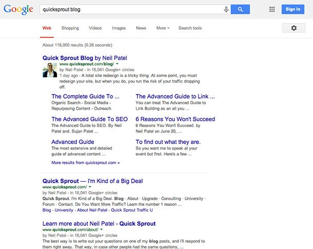 How Google 'Sitelinks' Can Improve Your SEO
