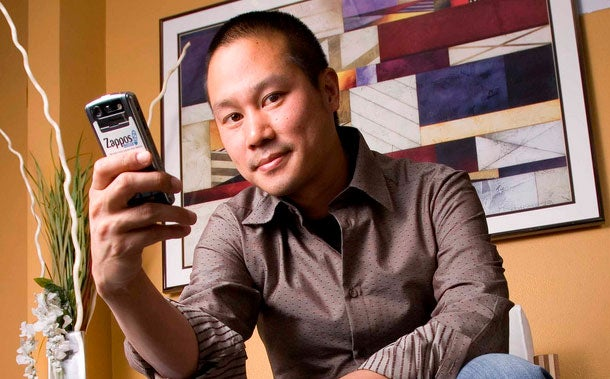 Always resourceful: Zappos chief Tony Hsieh.