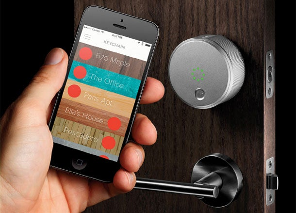 B?har co-founded keyless smart lock August.