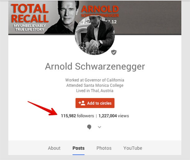 Twelve Things You Should Do on Your Personal Google+ Account Right Now - total recall