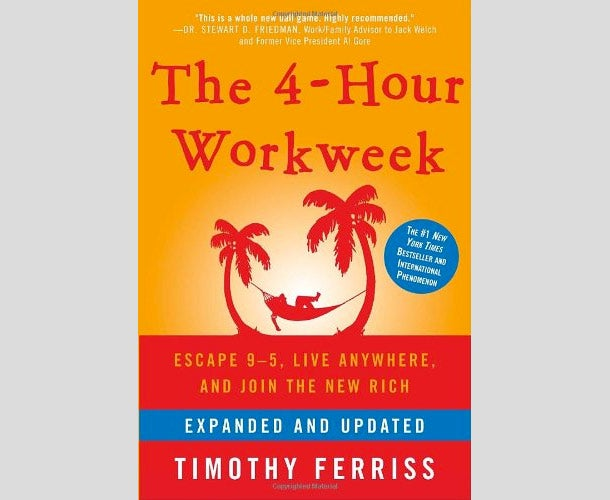 The Four-Hour Work Week: Escape 9-5, Live Anywhere, and Join the New Rich by Timothy Ferriss by Timothy Ferriss