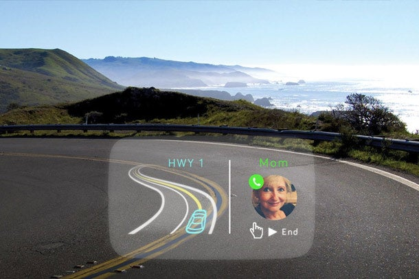 This Handy Gadget Is Like Google Glass For Your Car