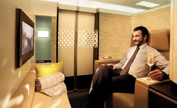 Etihad Airways cabin-in-the-sky
