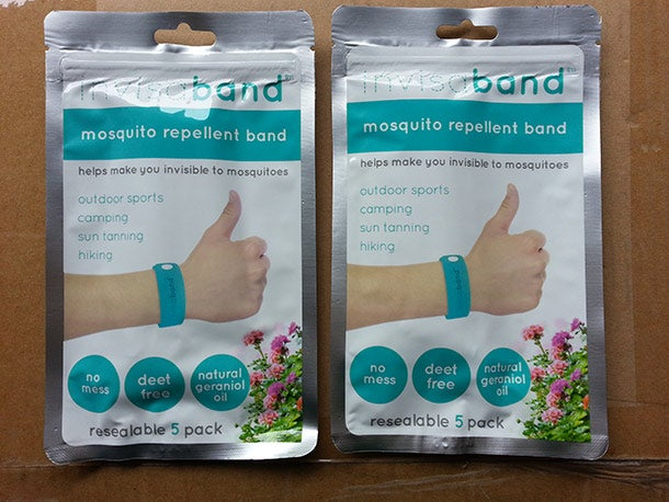 This Mosquito-Repelling Wristband Might Just Save Your Summer - Invisaband