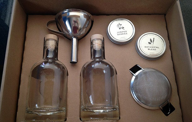 DIY Gin Kit Finds a Home With Spirit Enthusiasts - Gin Kit