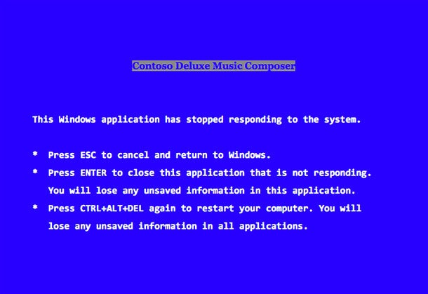 Guess Who Wrote Microsoft's 'Blue Screen of Death'