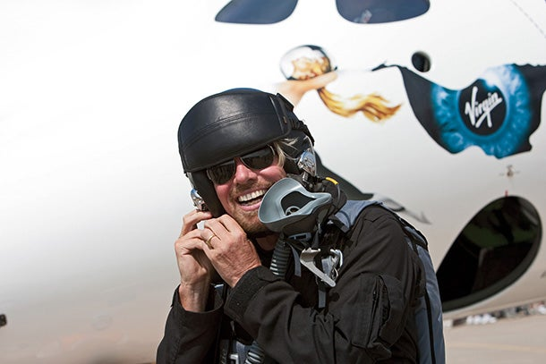Richard Branson - Virgin Galactic