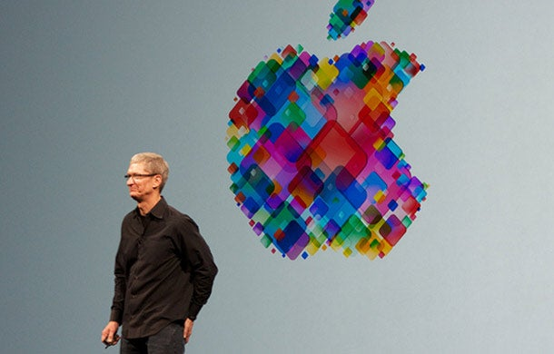 Apple's Tim Cook takes a swipe at Google, Facebook