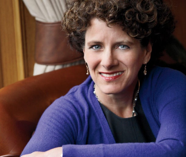 Talk therapy: Psychologist Susan Pinker.