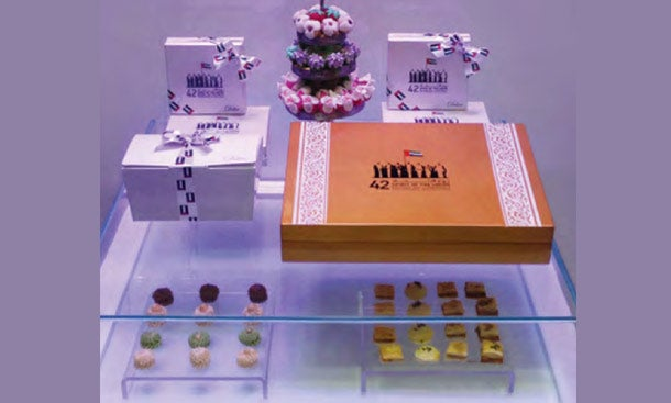 Delice Confectionary selection on the occasion of the 42nd UAE National Day