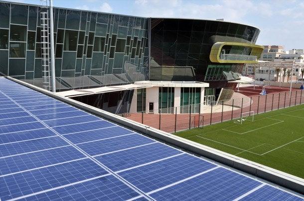 Al Bateen School Solar Photovoltaic System