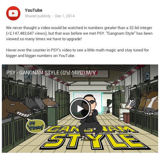 Gangnam Style Has Been Viewed So Many Times It Actually Broke YouTube