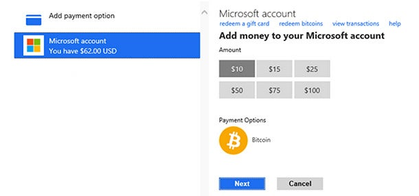 Microsoft Is Now the Largest Company in the World to Accept Bitcoin