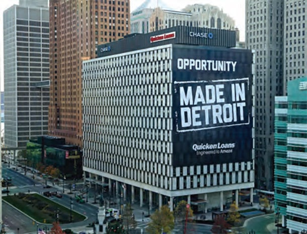 Southfield, MI, native Dan Gilbert, founder of Quicken Loans, has purchased or leased a huge swath of downtown Detroit and is aggressively revitalizing the motor City and transforming it into a 21st-century high-tech hub.