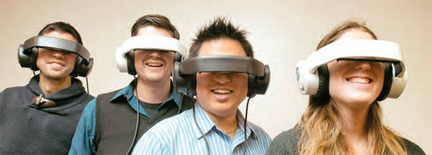 Avegant, which emerged from a business incubator operated by Ann Arbor SPARK, is commercializing its Glyph headset, which can deliver high-fidelity sound and high-definition video to users.