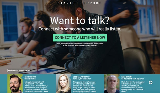 Slowly But Surely, More Entrepreneurs Are Coming Out About Depression, Seeking Support Online