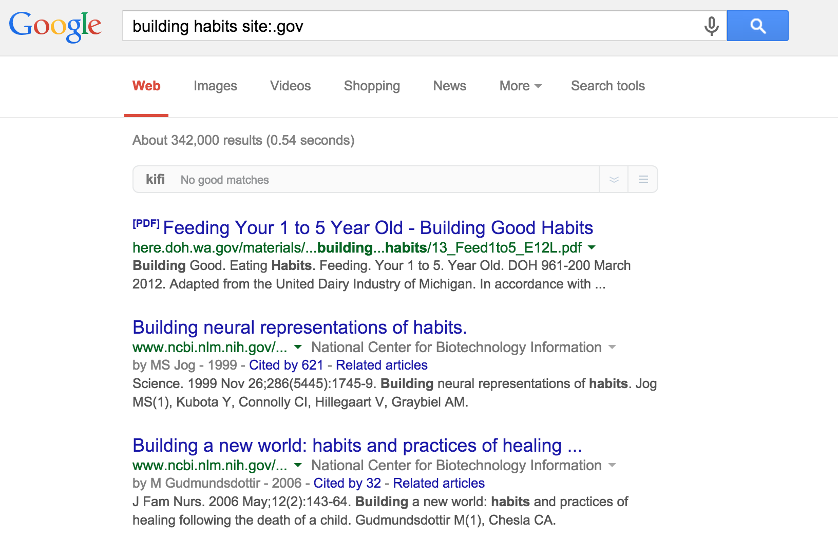 refine Google searches for research