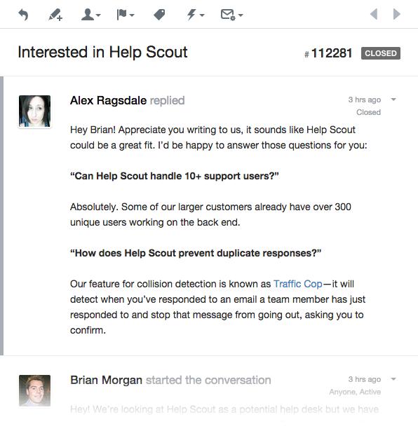 Response using bold style