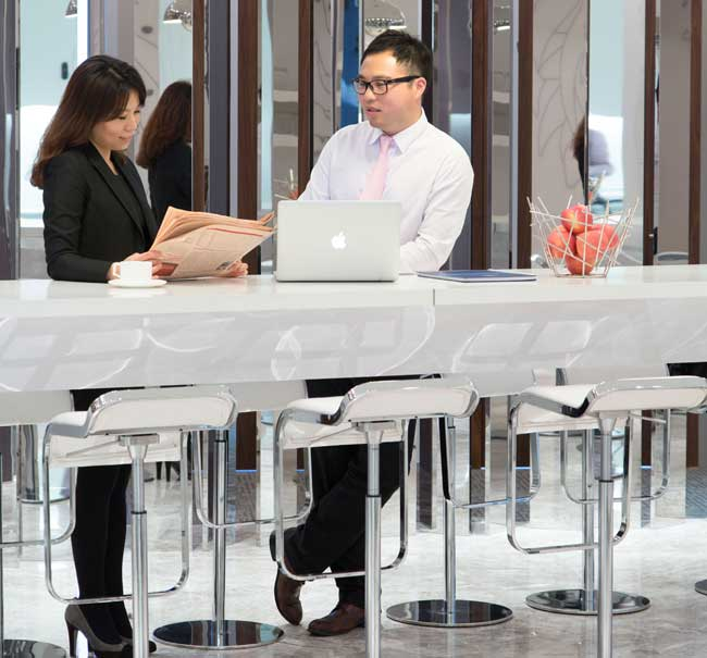 Standing Revolution: Office space designs promoting wellness at workplace