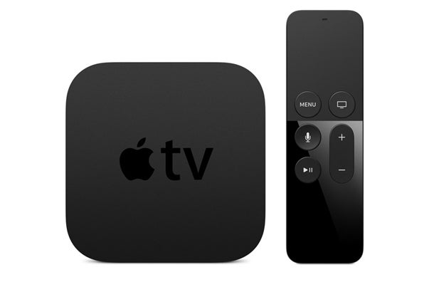 apple tv with new remote