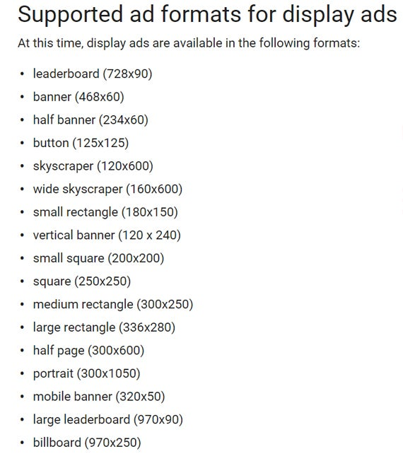 adwords-supported-ad-formats