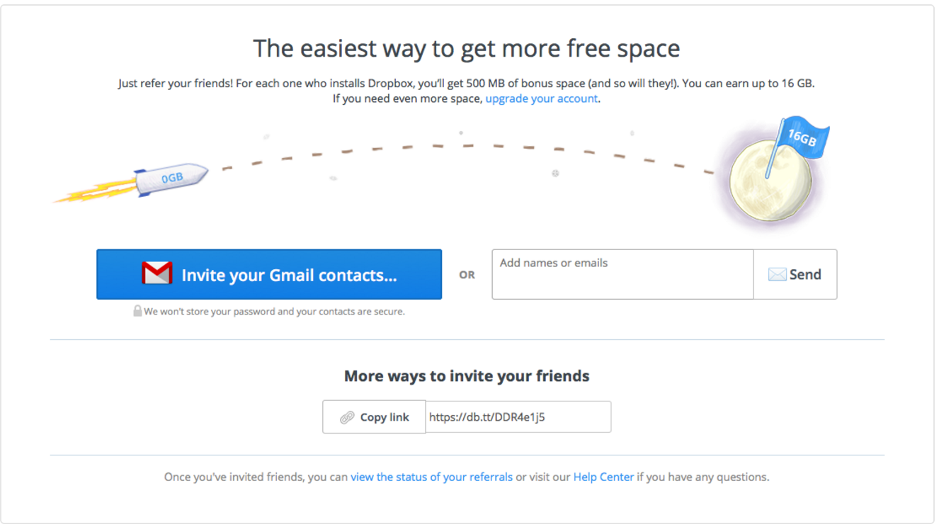 dropbox-extra-storage-referral-landing-page