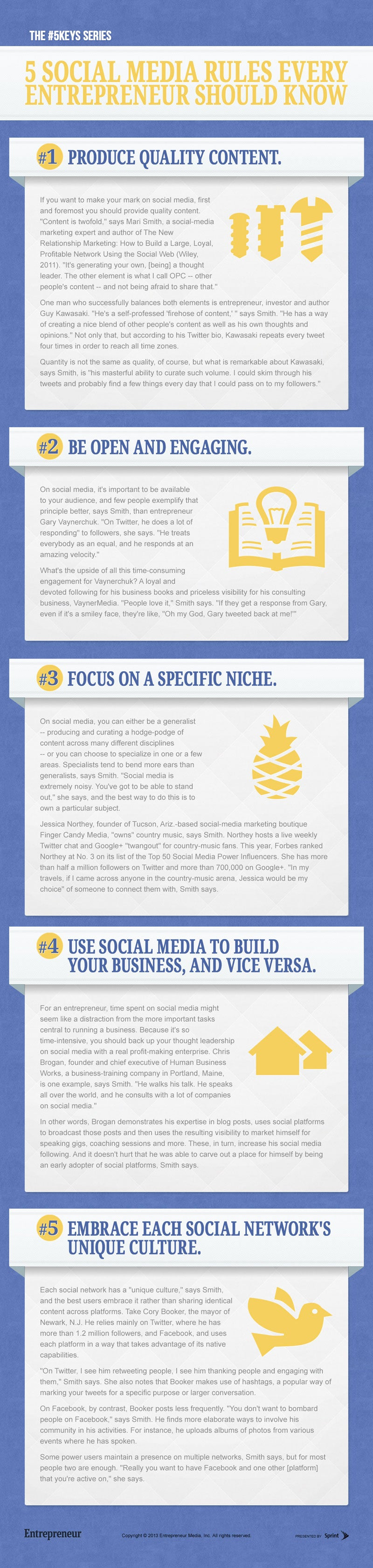 5 Social Media Rules Every Entrepreneur Should Know