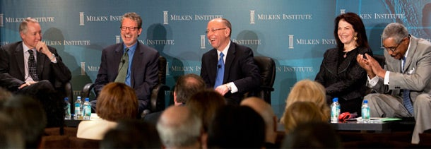 Cordes flew to Los Angeles for the Milken Institute Global Conference</a>, where he joined an April 30 panel on encore careers.