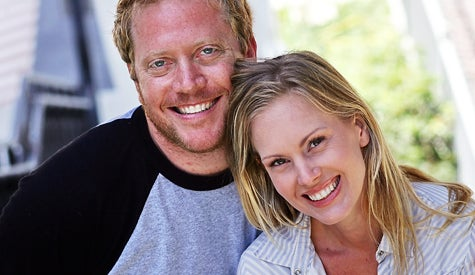 Adam and Cat Stone, co-founders of Stone Management in Beverly Hills, Calif. The married business partners represent Hollywood filmmakers to place products in movies.