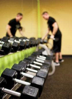 """""""Our biggest competitor is actually not other gyms. It's the intimidation people feel at other workout facilities."""""""