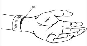 Apple's patent for an iWatch-like device with a flexible touchscreen display