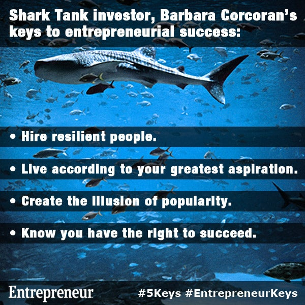 Barbara Corcoran's Keys to Entrepreneurial Success