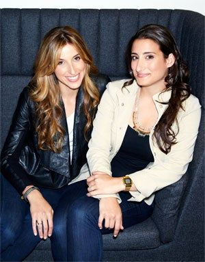 Katia Beauchamp (left) and Hayley Barna of Birchbox