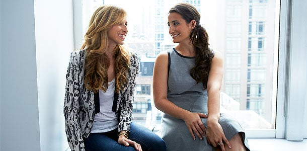 Katia Beauchamp and Hayley Barna of Birchbox