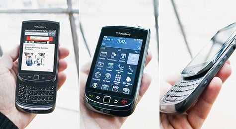The BlackBerry Torch 9800