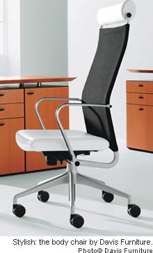 Body Chair by Davis Furniture